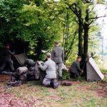 Grundausbildung 1995 in Bad Arolsen