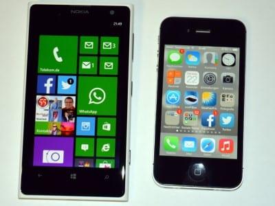 Nokia lumia 1020 iphone 4s umstieg vergleich