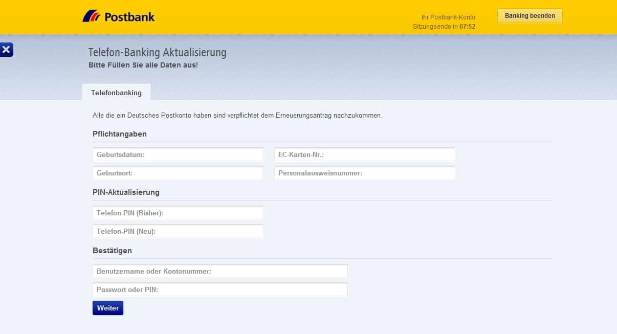postbank phishing 2014-1